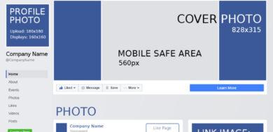 Tips en tricks voor de omslagfoto van je Facebookpagina