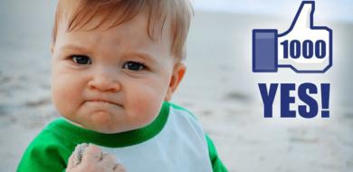 Hoe vier je x aantal likes op je Facebookpagina?