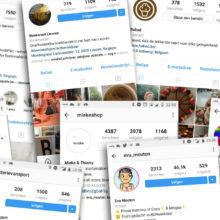 10 Vlaamse Instagram-accounts die je tonnen inspiratie opleveren