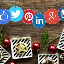 Zo vier je Kerst en Nieuwjaar op social media