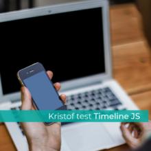 De Tooltester: Timeline JS