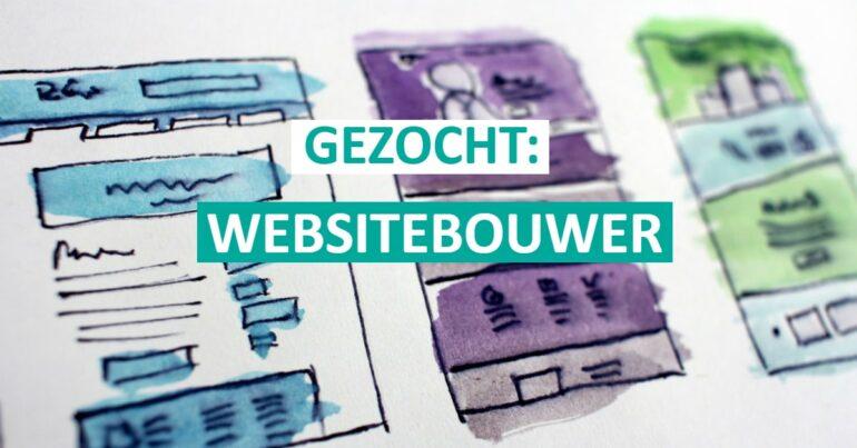 Gezocht: webmaster voor onze nieuwe website (WordPress)