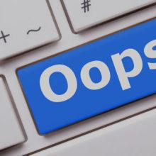 4 fouten in je nieuwsbrief