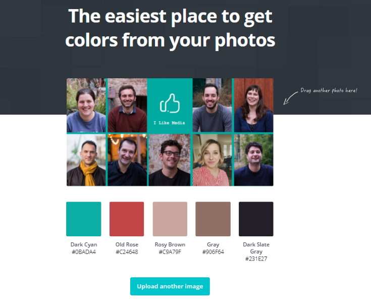 Canva color palette generator