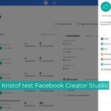 De Tooltester: Facebook Creator Studio
