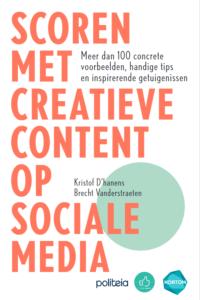 cover boek 'scoren met creatieve content'