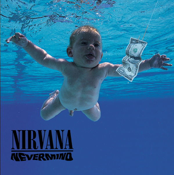 Albumhoes Nirvana Nevermind