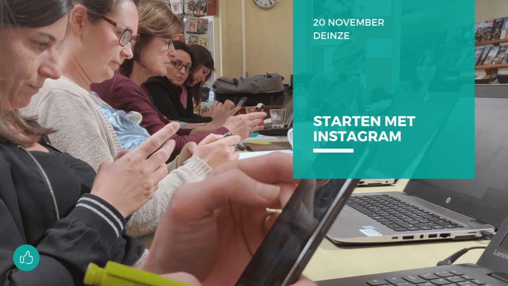 starten met Instagram