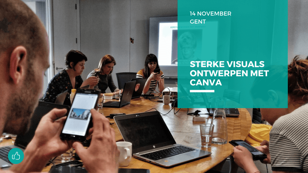 Sterke visuals ontwerpen met canva